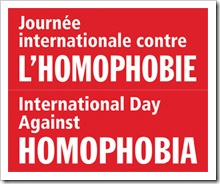 Journée Internationale contre l Homophobie
