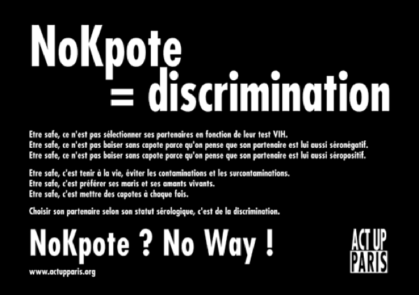 Nokpote discrimination