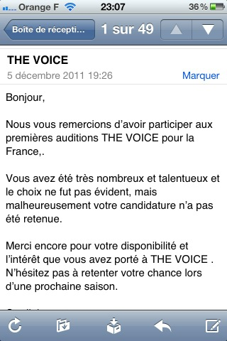 Daniel Loeillot - The Voice