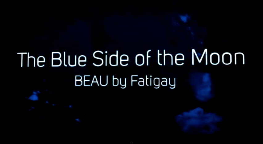 The Blue Side of The Moon Beau by Fatigay