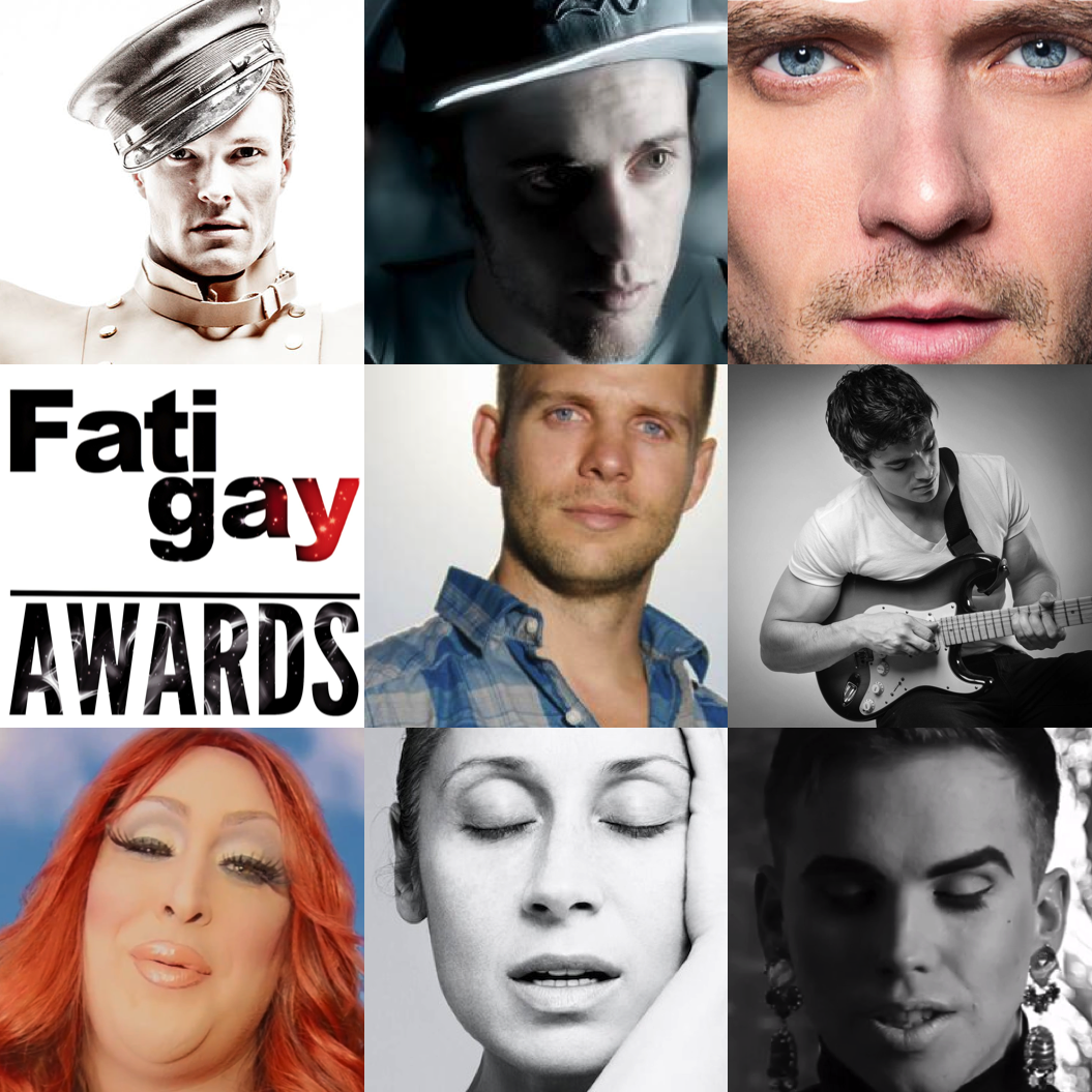 Nominés FATIGAY Awards de la Chanson Gay 2013