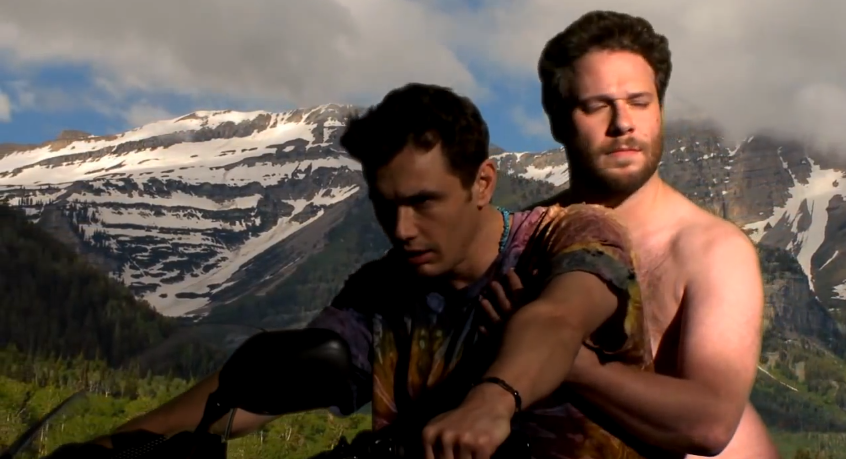 James Franco dans une version Gay parodique du clip de Kanye West et Kim Kardashian